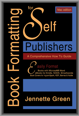 self publishing formatting book