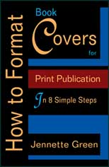 how to format book covers for self published books