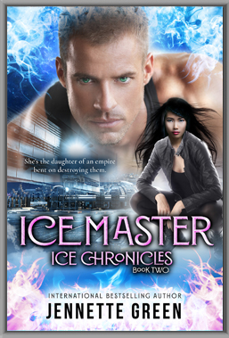 Ice Master science fiction romance book, futuristic romance
