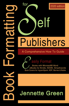 book formatting for self publishing industry, format a book