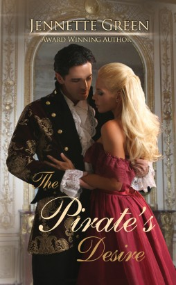 The Pirate's Desire, a regency historical romance novel by Jennette Green