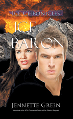 Ice Baron science fiction romance book