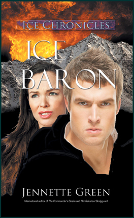 science fiction romance book, Ice Baron